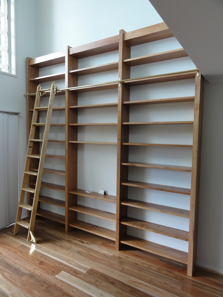 Bookcase in Recycled Ash