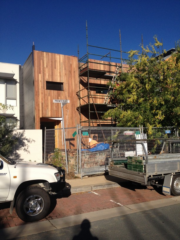 Spotted Gum Vertical Cladding