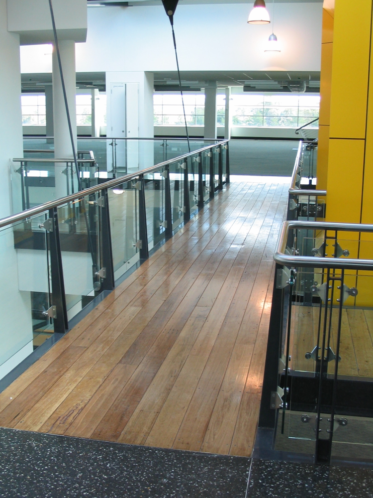 Re-milled Blackbutt Flooring