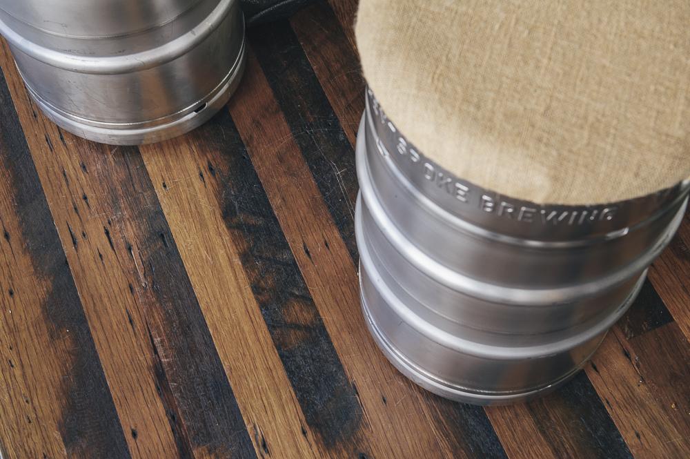 Keg Stools & Flooring
