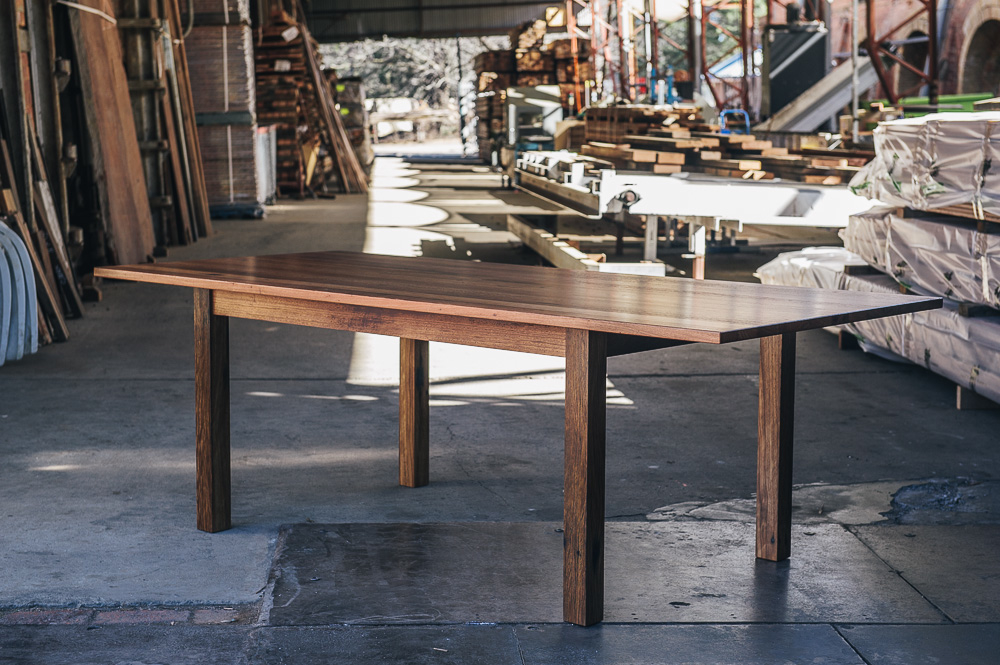 Rustic Blackbutt Table