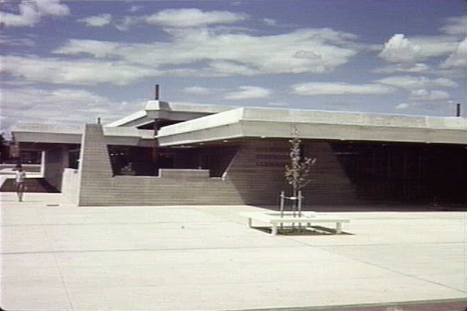 Dickson Library, Canberra ACT, Enrico Tagiletti 1969.