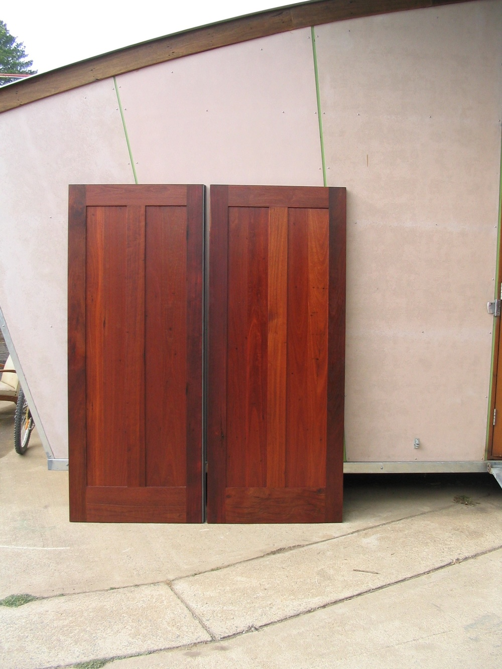 Vertical Panel Door