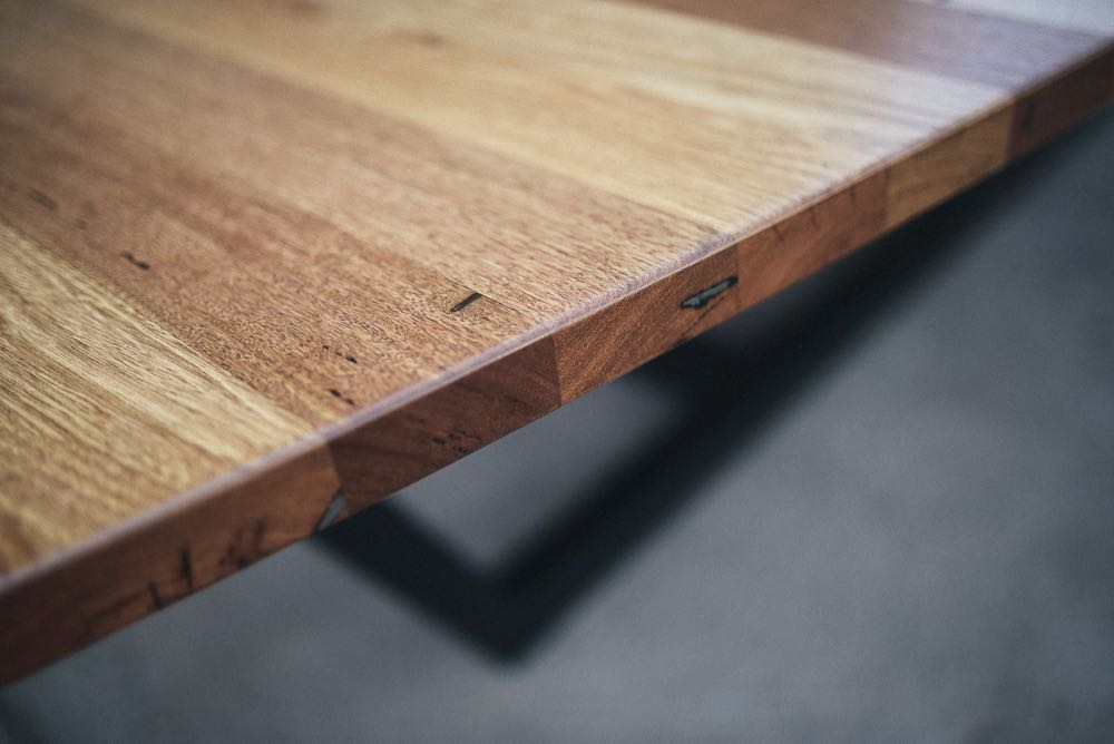 Blackbutt and Mixed Ash Bench top