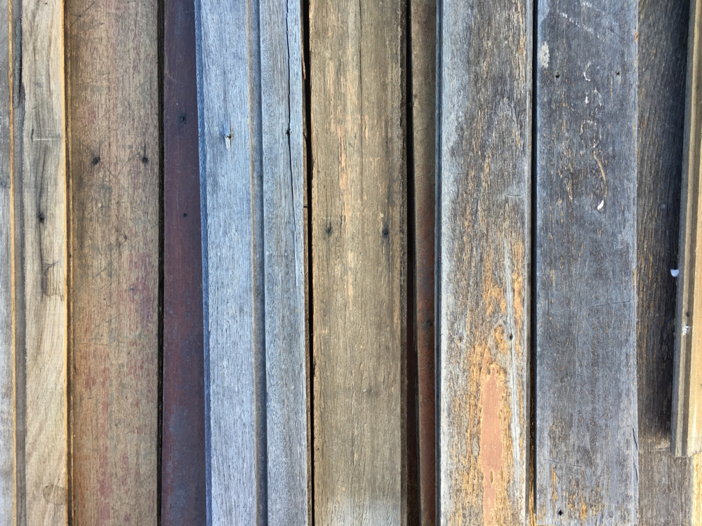 Salvaged hardwood flooring - various sizes and species available.