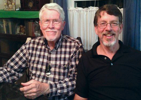 Keith Rogers, founder, and son Lee Rogers