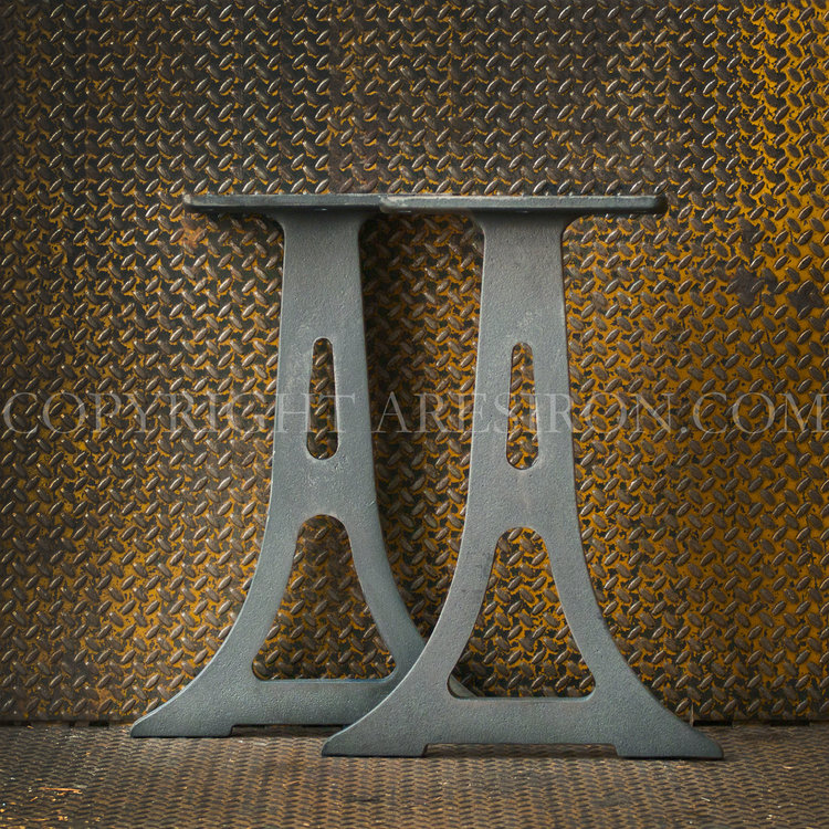 Flume cast iron legs