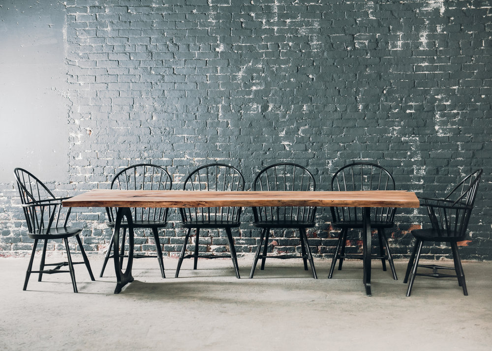 Black Windsor Chairs