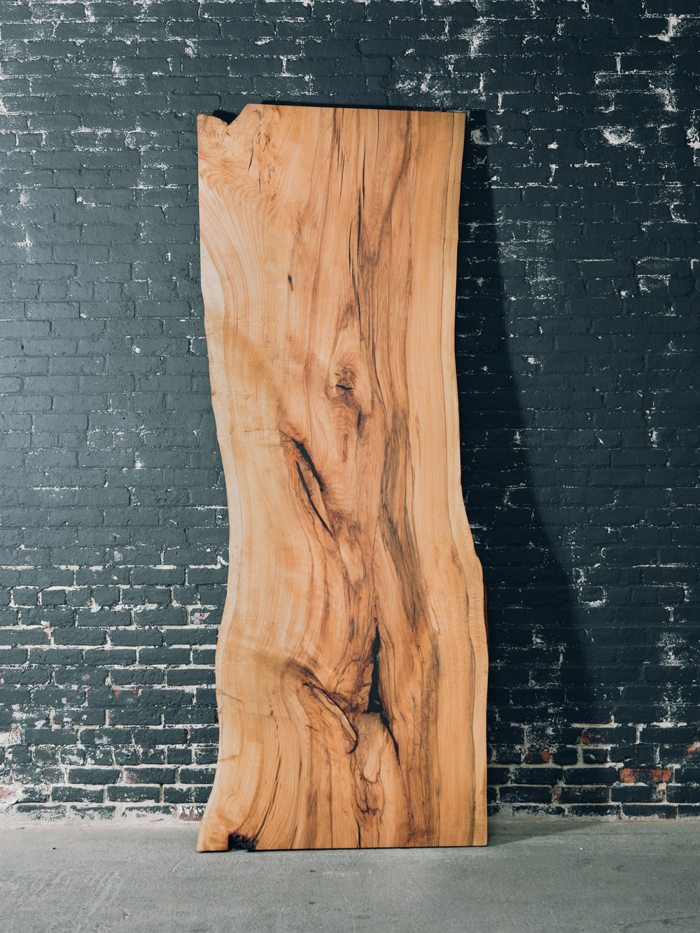 "9' x 40"" Beech Slab (John Adams Tree)"