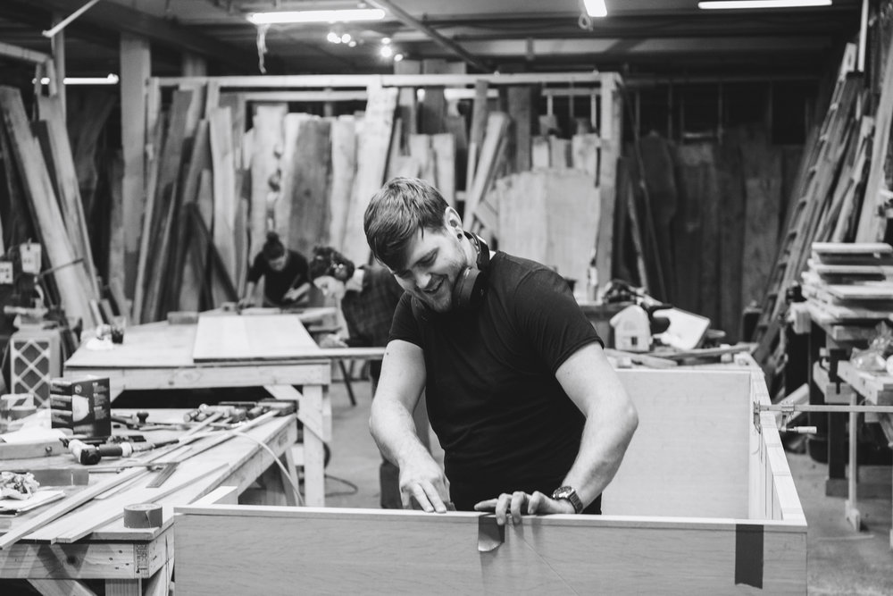 Dustin Grabowski   Cabinet Maker/ Finisher