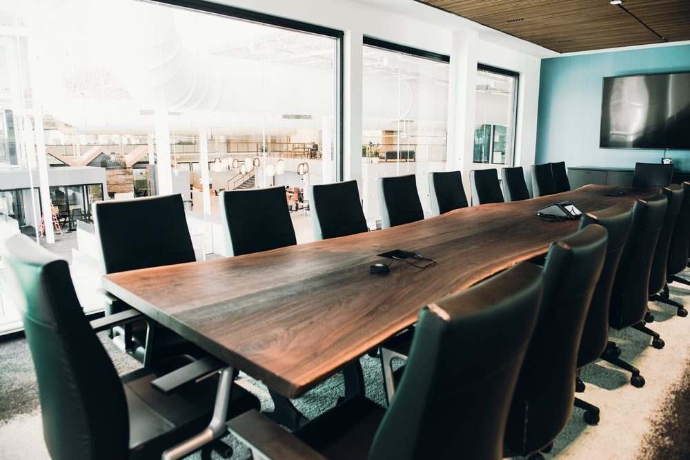 large conference table slab