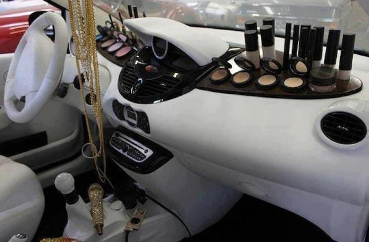 luxe makeup car