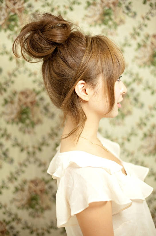 lady day updo