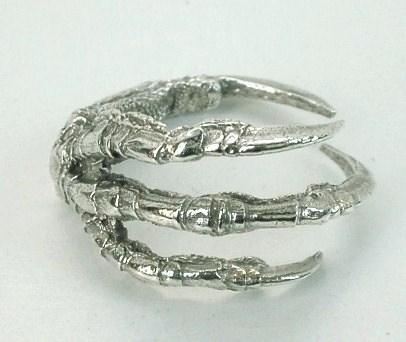 bird claw ring