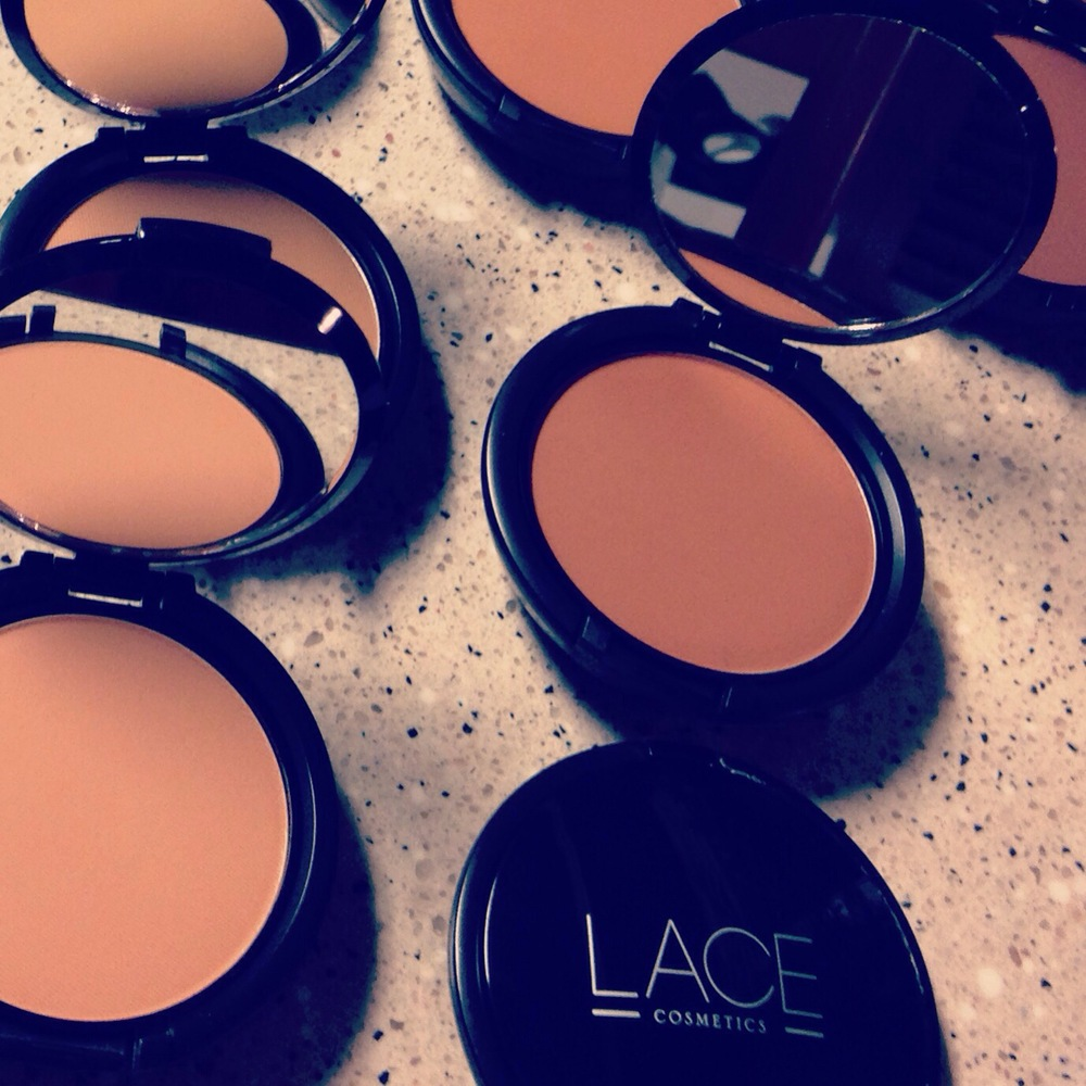 Lace Cosmetics Powder Foundations