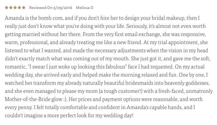 the knot vendor review