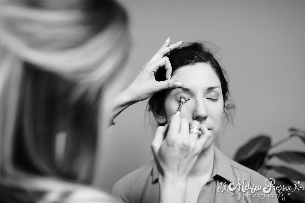 Bridesmaid Getting Ready - Makeup