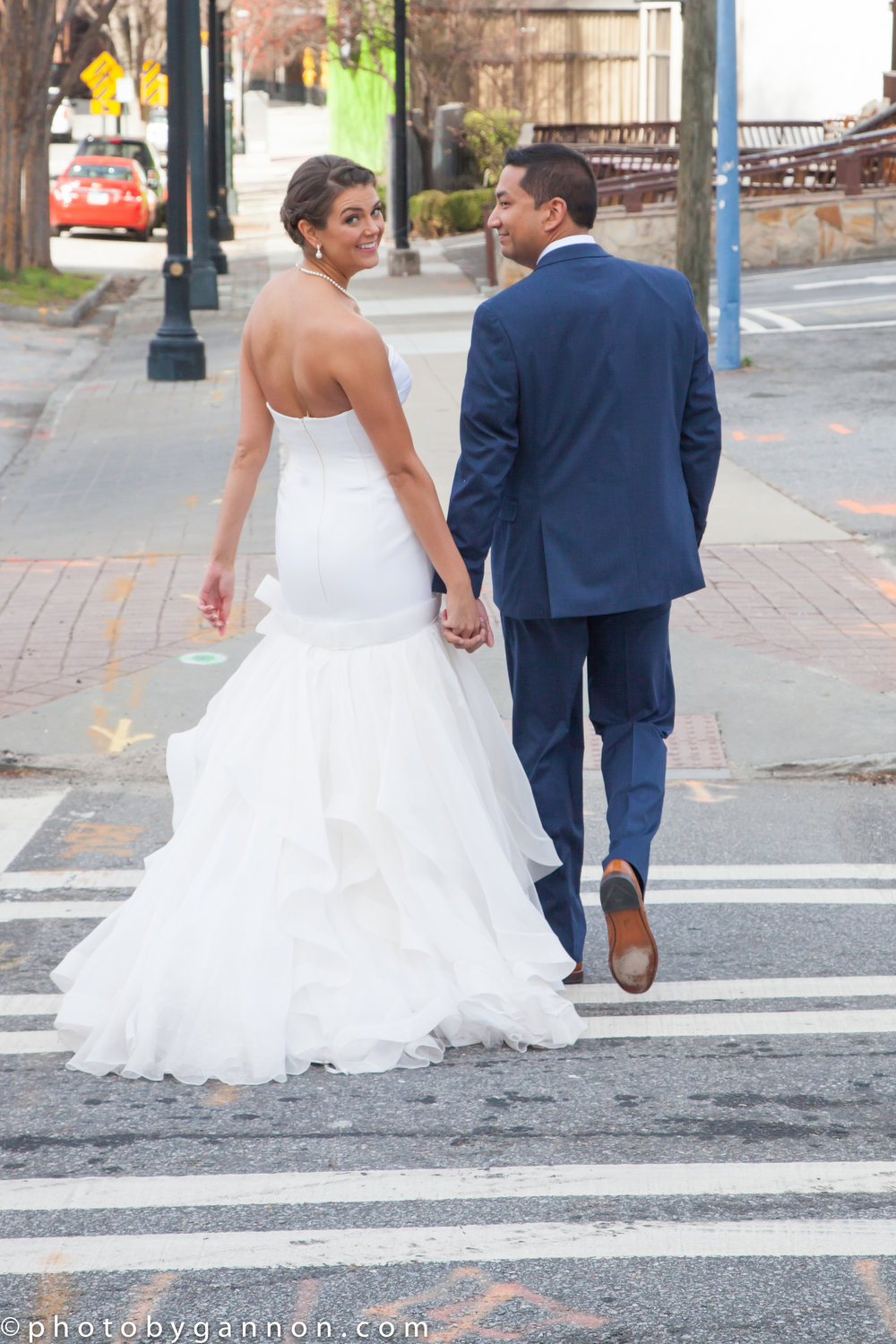 atlanta - west peachtree - bride and groom