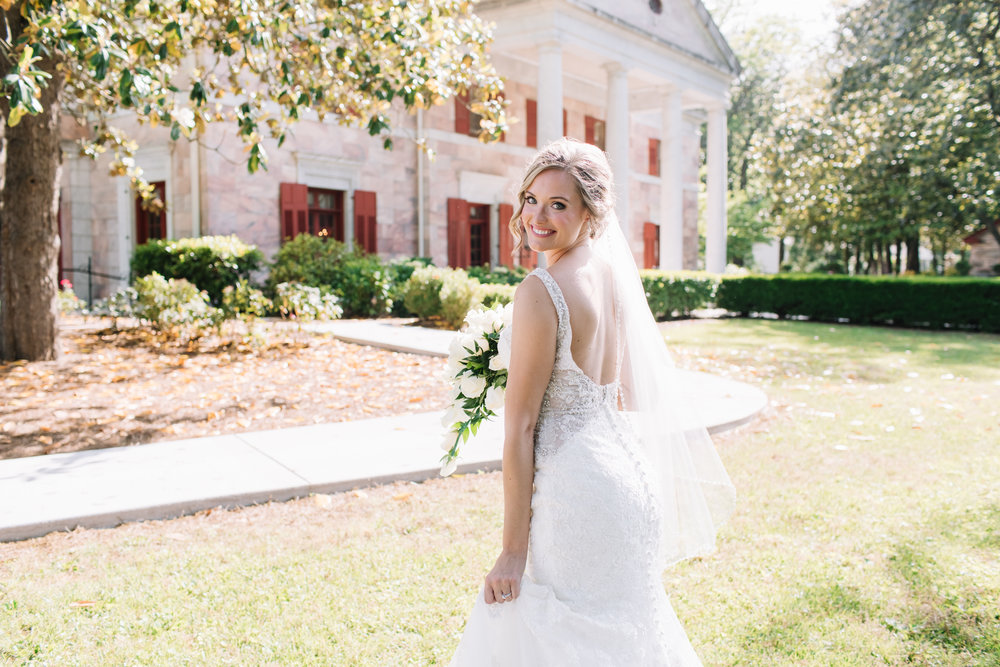 bride at tate house