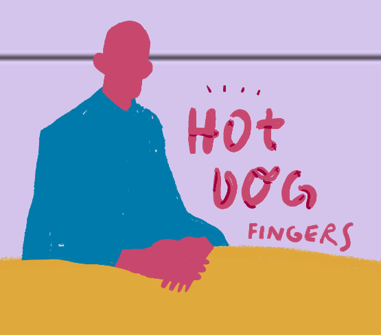 Today's drawing is all about hot dog fingers. Best of times worst of times