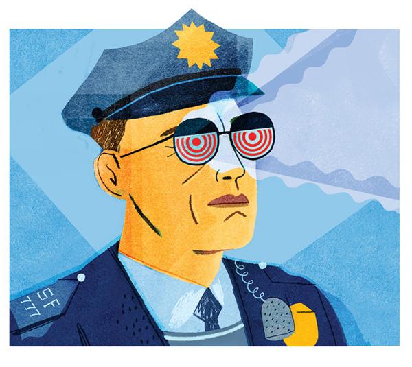 Justin Gabbard - cop