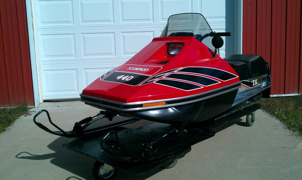 2012 Feature sled: 1979-1981 TK & TKX