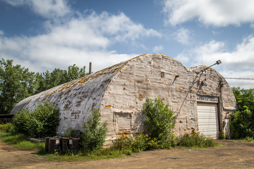 City of Crosby - Quonset Huts