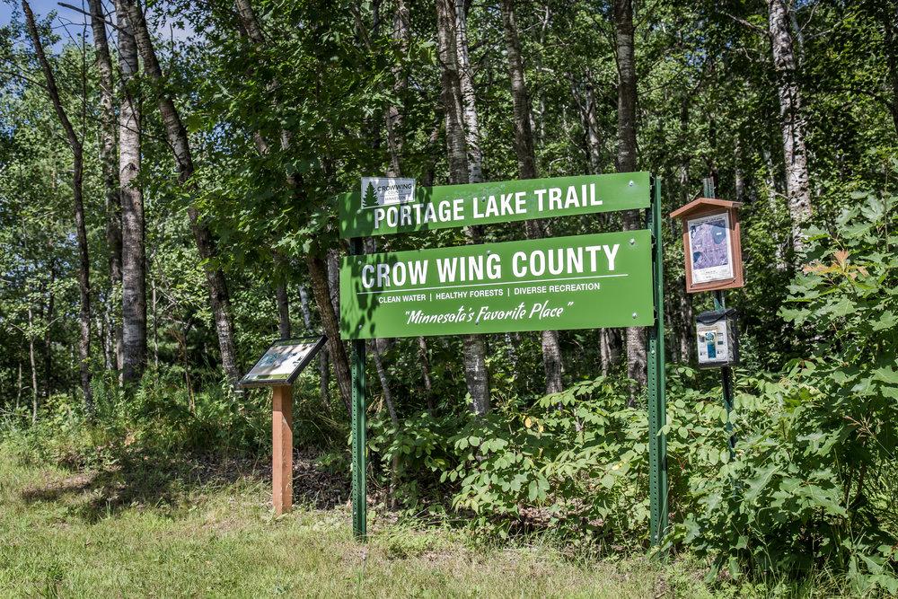 Portage Lake Test Track