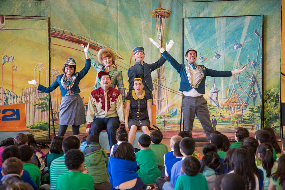144 professional theatre performances reaching 43,200 underserved students