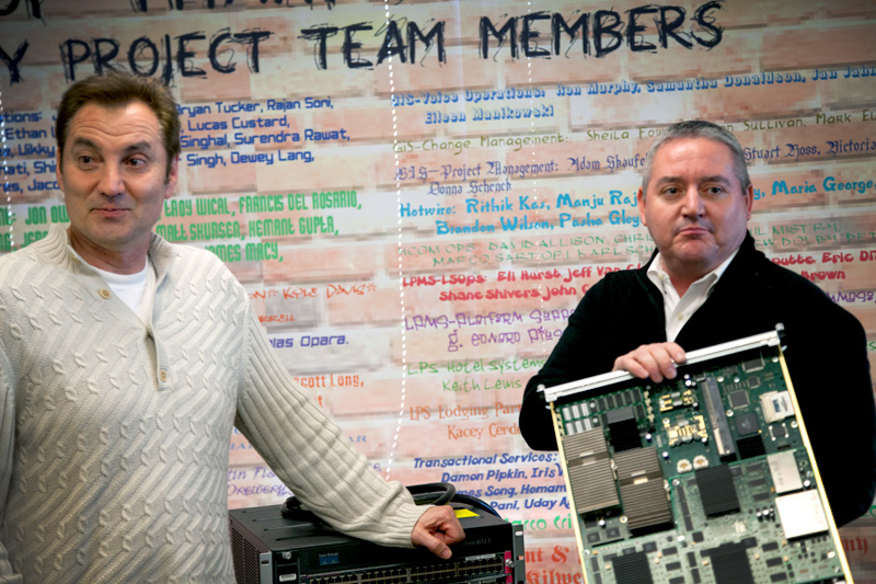 Tech team pays to get rid of old technology