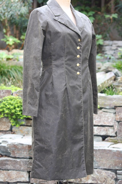 CATHERINE IN WAXED COTTON