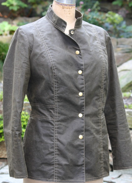 ANDY IN WAXED COTTON