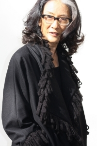 Reiko Coat  Cashmere with  Wool Looped Trim  Silk lining