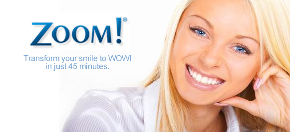 Enjoy (2) Zoom Bleaching treatments for the price of (1) throughout the month of March ($499)