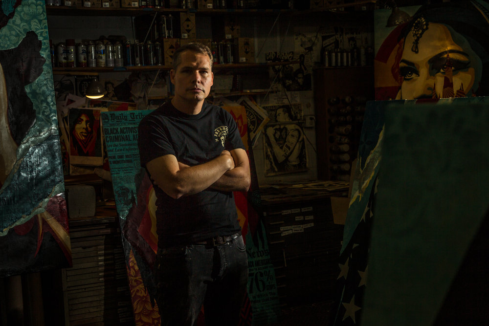 Shepard Fairey, Juxtapoz Mag