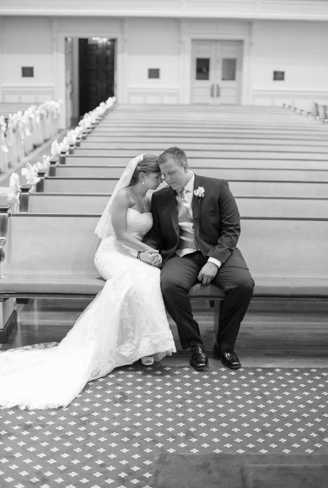 First Baptist Church wedding