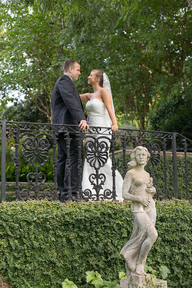 Founders Memorial Garden wedding photography