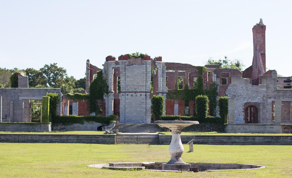 ruins of Cumberland Island