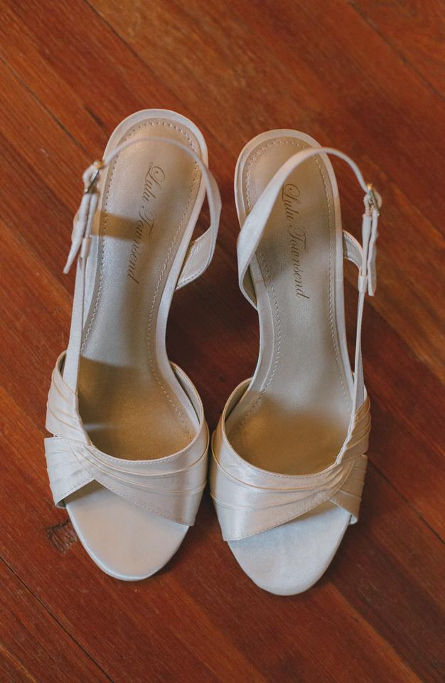 Lulu Townsend wedding shoes