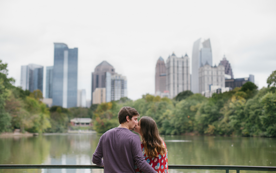 Atlanta engagement photos