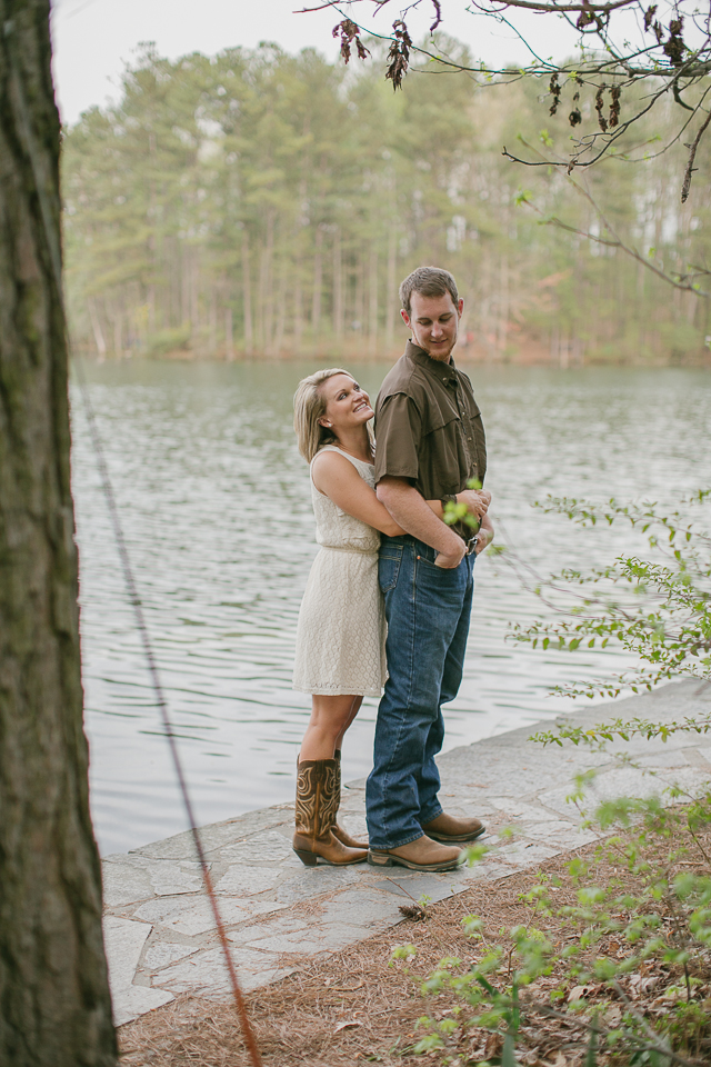 Stone Mountain engagement photography