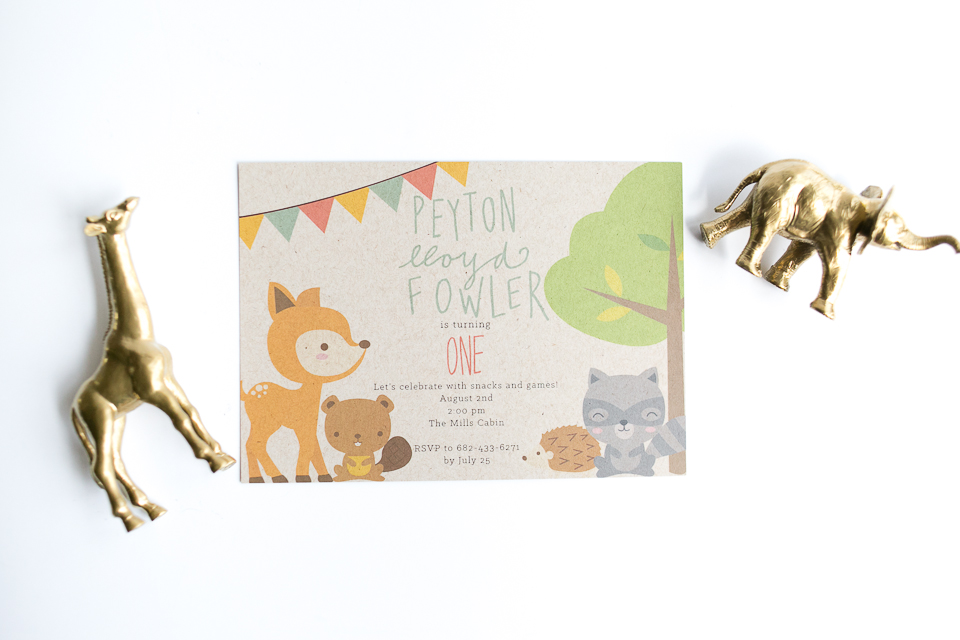 Athens Ga birthday invitations The Creative Porcupine