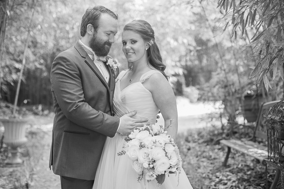 Thompson House and Gardens wedding