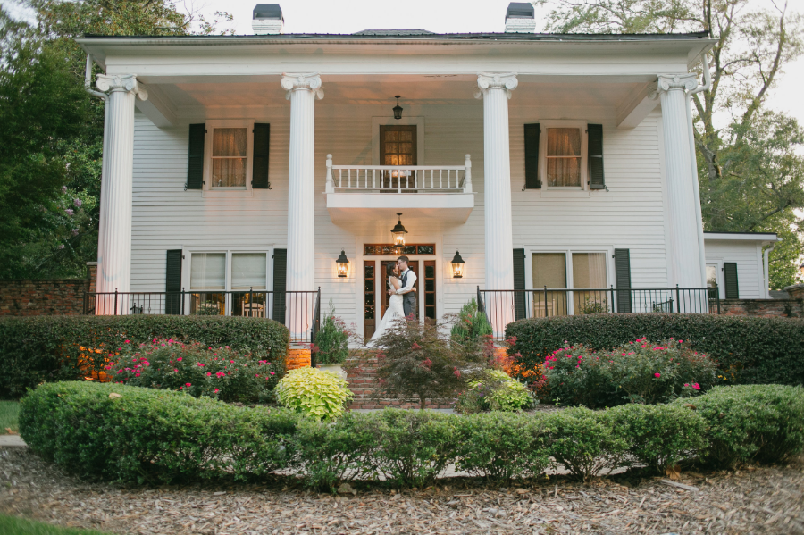 The Carl House Athens Ga wedding photographer