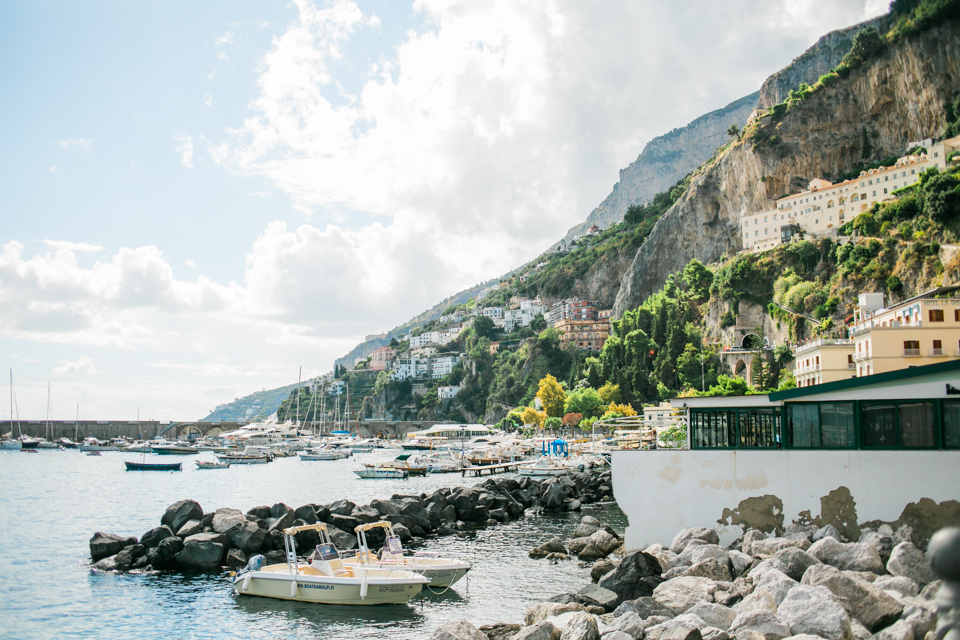 Amalfi Coast Italy vacation