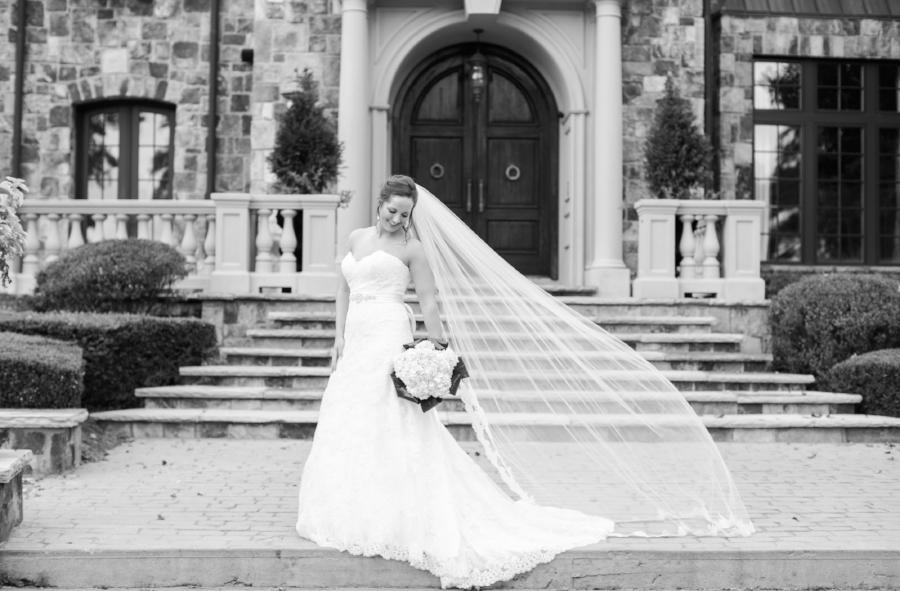 Augusta Georgia bridal portrait session
