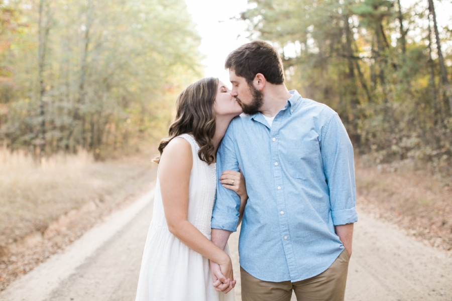 Brick Pond Park engagement photos