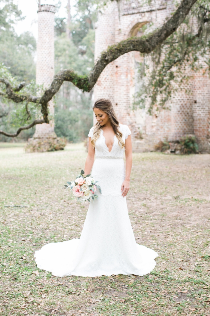 South Carolina bridal portraits