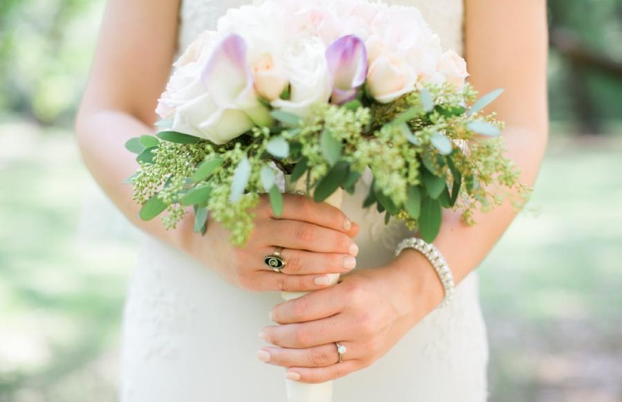 Clemson bridal portraits