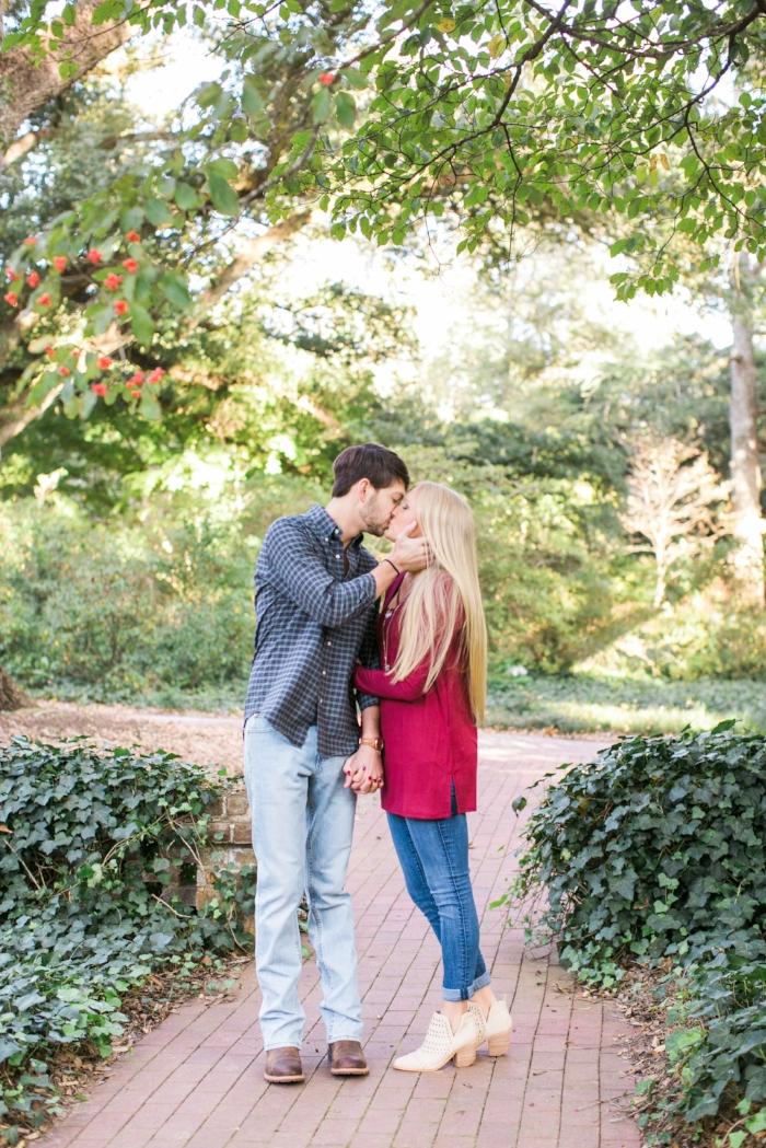 Augusta GA engagement photos